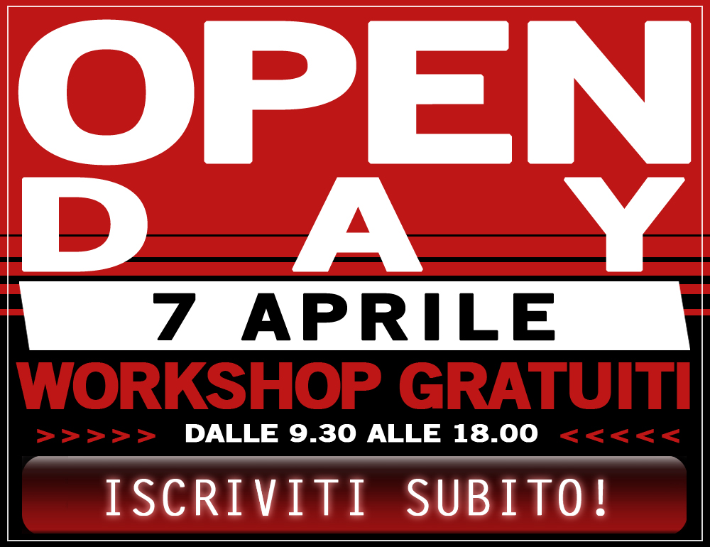 Open Day 7 Aprile 2017